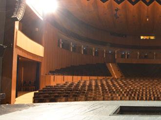 Strojní technika divadel jeviště, hlediště a dalších prostor