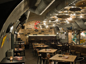 Ozvučení restaurací, hotelů a diskoték
