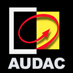Logo značky Audac