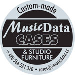Logo značky MusicData studiový nábytek