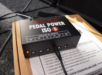 Obrázek č.4 article Porovnání napájecích adaptérů pro kytarové efekty