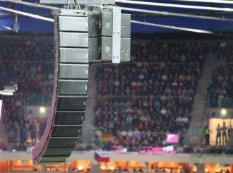 Obrázek č.4 reference O2 Arena Praha