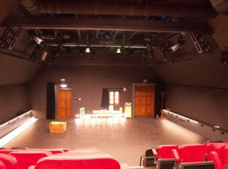 Obrázek č.3 reference Experimentální scéna Jihočeského Divadla – Na Půdě