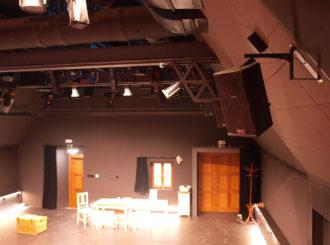 Obrázek č.2 reference Experimentální scéna Jihočeského Divadla – Na Půdě
