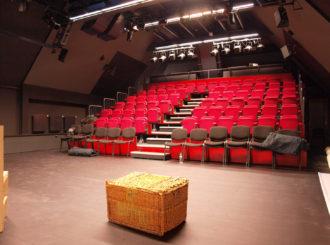 Obrázek č.1 reference Experimentální scéna Jihočeského Divadla – Na Půdě