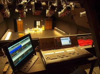 Obrázek č.6 reference Experimentální scéna Jihočeského Divadla – Na Půdě