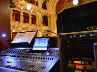 Obrázek č.3 reference Druhý digitální mixážní pult Innovason Eclipse GT pro Divadlo J. K. Tyla