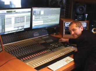 Obrázek č.3 reference Studiová konzole pro Karla Holase
