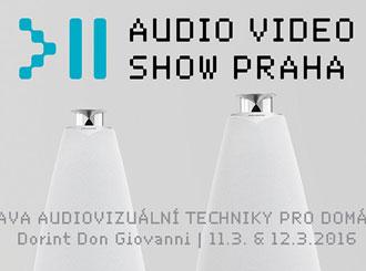 Navštivte nás na výstavě Audio Video Show v Praze