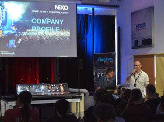 NEXO Day odhalil nový DTD Digital TD Controller a DTDAMP
