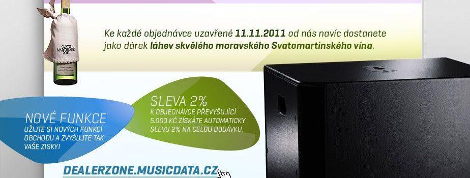 11.11.11. svaté marže přijíždí na novém portálu DEALERZONE!