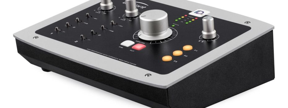 AD-DA Interface & Monitoring System Audient iD22