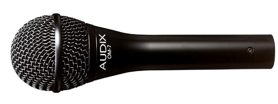 Audix OM série a odolnost proti zpětné vazbě