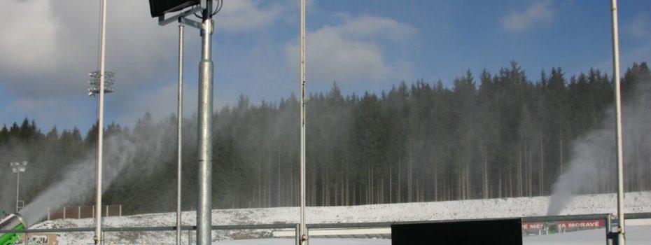 Biatlonový svátek roku 2012 v Novém Městě na Moravě začal a MusicData zajišťují dokonalý zvuk