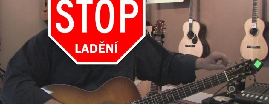Big Bends - stop rozlaďování kytary