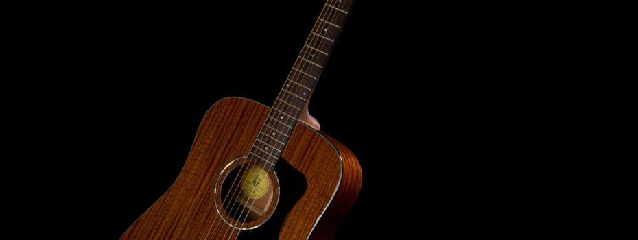 Celomahagonová krása kytary Guild D-125 CE
