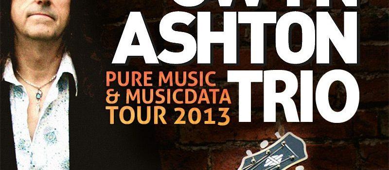 Gwyn Ashton Trio v MusicData na TOUR 2013