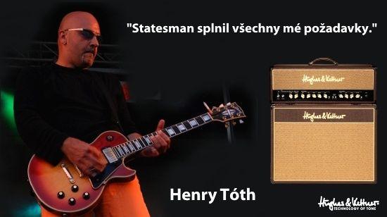 Henry Toth - Statesman splnil všechny mé požadavky