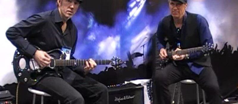 Hughes & Kettner na NAMM Show 2010 a Billy Sheehan