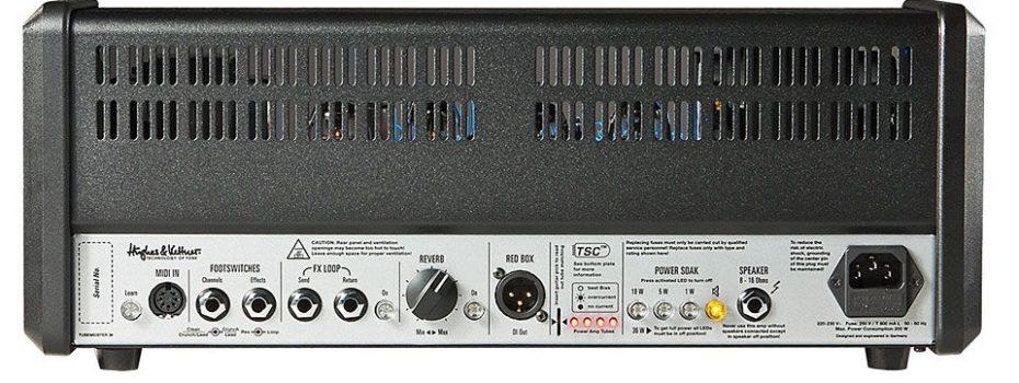 Hughes & Kettner: Tubemeister 36 MIDI Learn