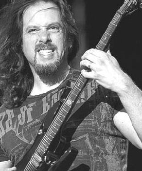 John Petrucci a Radial JD7
