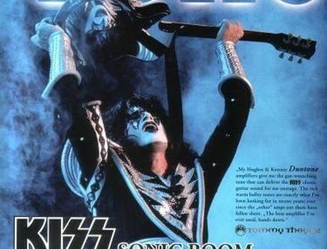KISS Tour s Hughes & Kettner Duotone. Američtí rockoví veteráni KISS