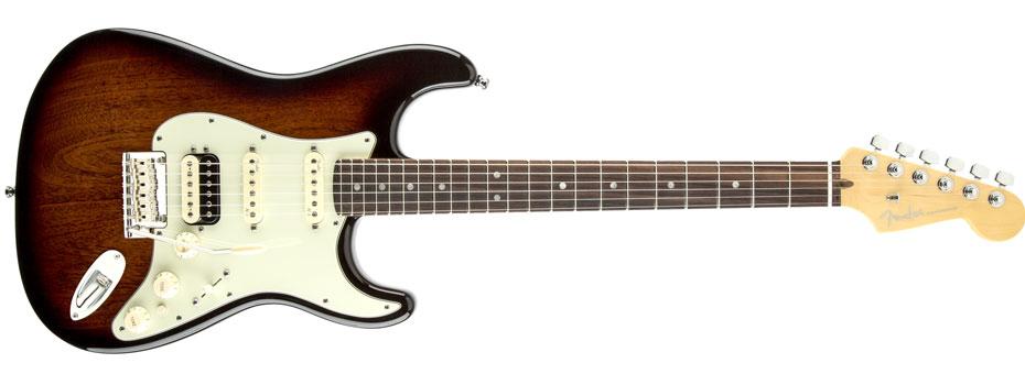 Limitovaná edice Fender American Deluxe Mahogany Stratocaster HSS