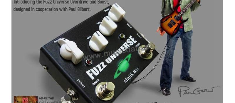 Majik Box Fuzz Universe Paul Gilbert Ovedrive