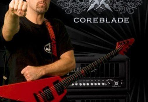 Metal Head Coreblade byl s Hughes & Kettner a Jeffem Watersem na NAMM Show 2010