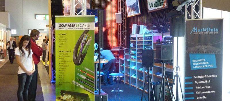 MusicData na veletrhu AMPER 2011