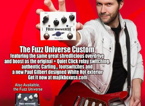 Nejprodávanější pedál od Majik Boxu je Fuzz Universe