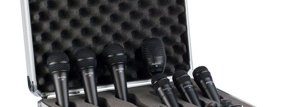 Nová univerzální sada mikrofonů Audix BP7F
