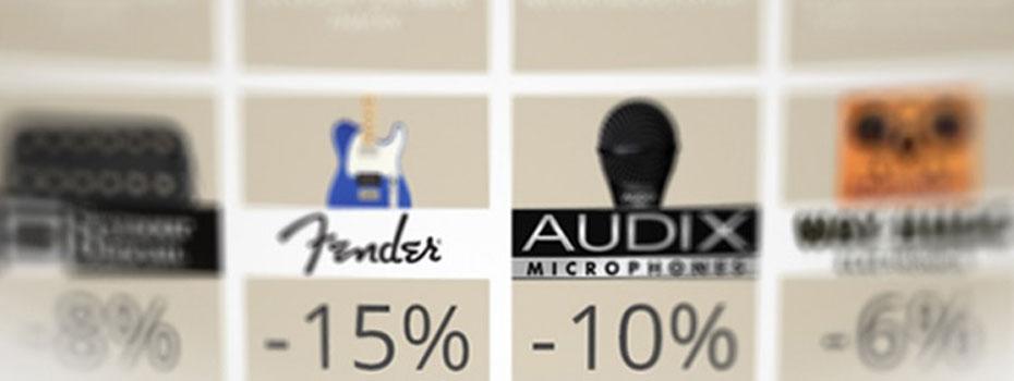 Nová várka slevových kupónů na iMusicData