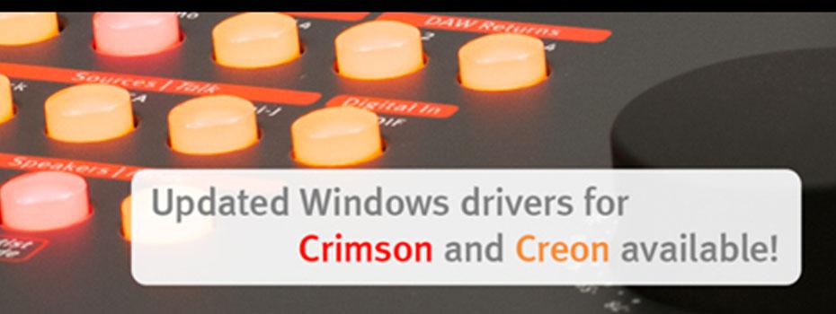 Nové drivery pro SPL Creon a SPL Crimson