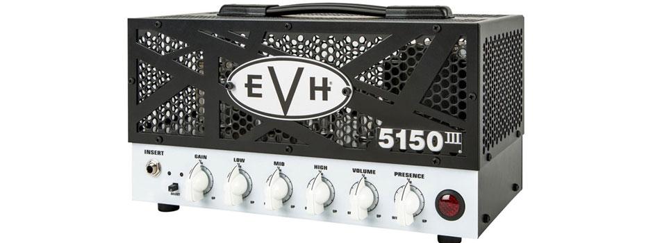 Novinka EVH 5150III 15W LBX Head skladem
