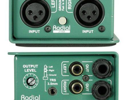Nový DI-Box Radial J-ISO