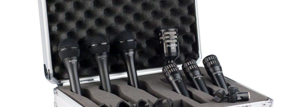 Profesionální sada mikrofonů Audix BP7 PRO