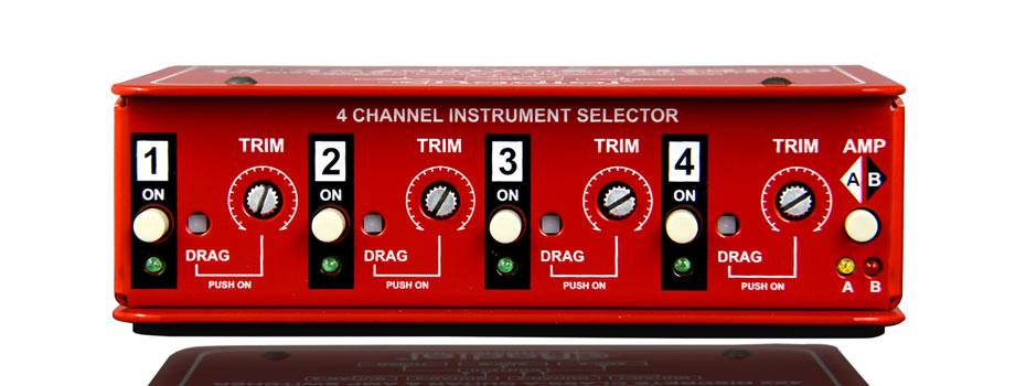 Radial JX-42 guitar selector