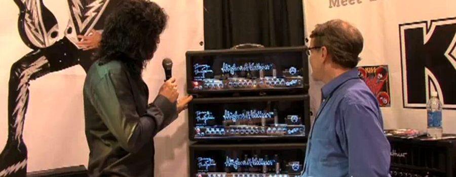 Rocková klasika KISS na NAMM Show s Hughes & Kettner Tommy Thayer Duotone.