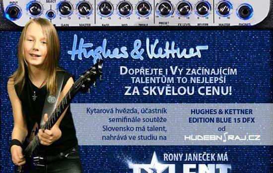 Rony Janeček nahrává na Edition Blue 15 DFX