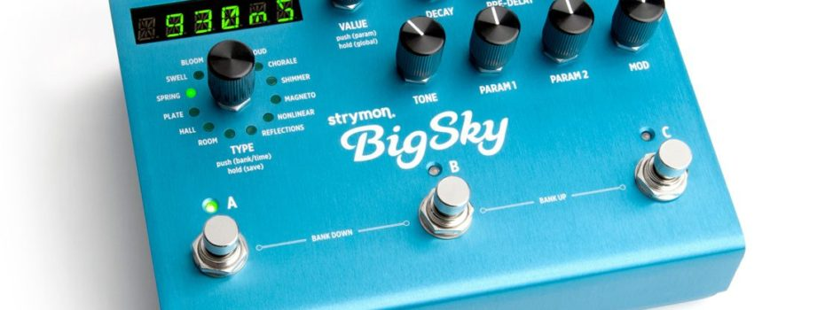 Strymon Big Sky titul Gear of the Year 2013