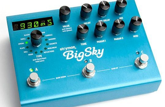 Strymon BigSky reverb machines