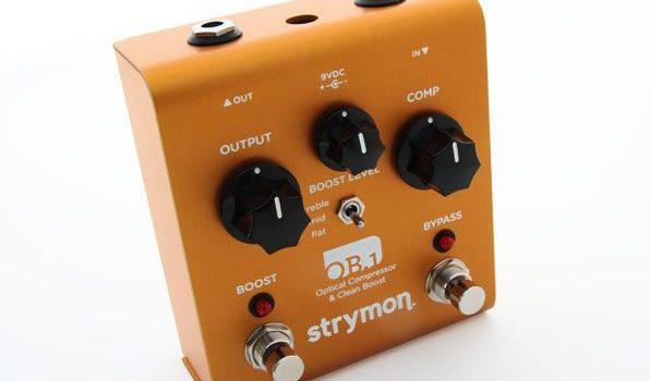 Strymon OB1 Clean Boost, Compressor