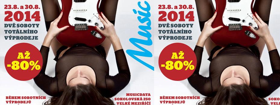 Totální výprodej v MusicData