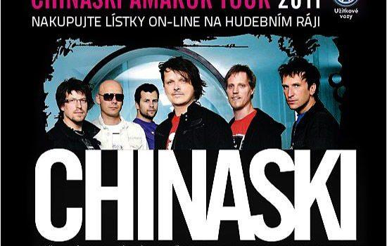 Veřejná generálka v rámci Chinaski Amarok tour 2011