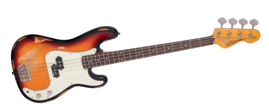Vintage V4MRSSB představuje model ve stylu relic precision bass