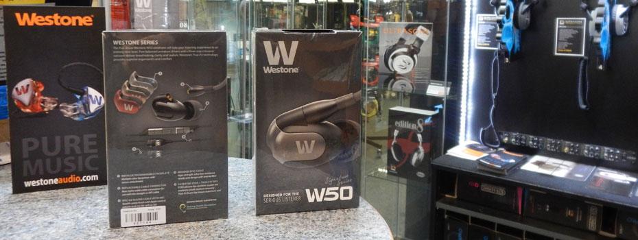 Westone W50 a UM PRO 50