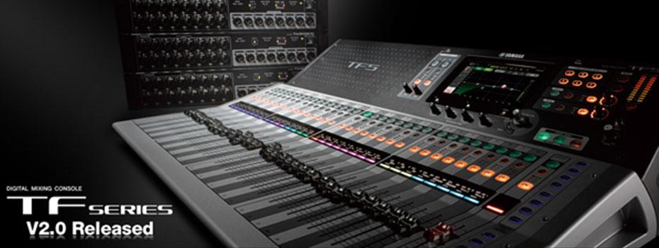 Yamaha oznamuje vydání nové verze 2.0 aktualizace firmware pro digitální mixpulty TF série