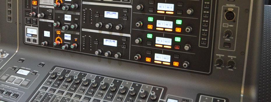 Yamaha Rivage PM10 – jeden z prvních kusů v evropě dorazil do MusicData