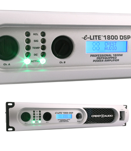 Zesilovače Crest Audio e-Lite